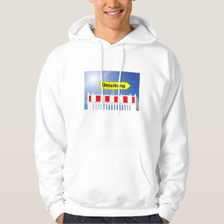 Building site, bypass and building site closing hoodie