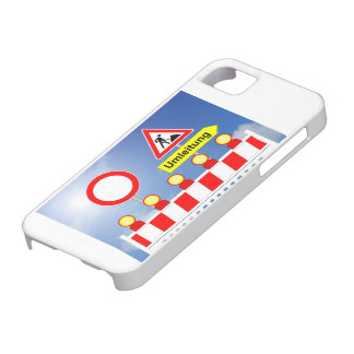 Building site passage forbade and bypass iPhone 5 case