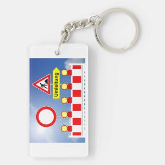 Building site passage forbade and bypass key ring