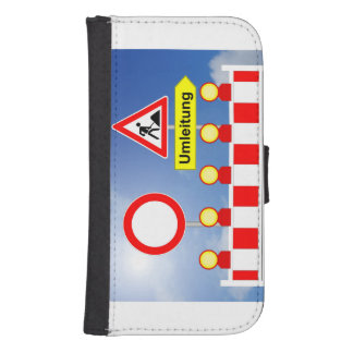 Building site passage forbade and bypass samsung s4 wallet case