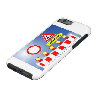 Building site passage forbade and bypass tough iPhone 6 case
