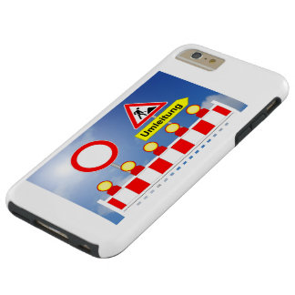 Building site passage forbade and bypass tough iPhone 6 plus case