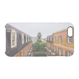Buildings and Palm Trees in New Orleans Clear iPhone 6/6S Case