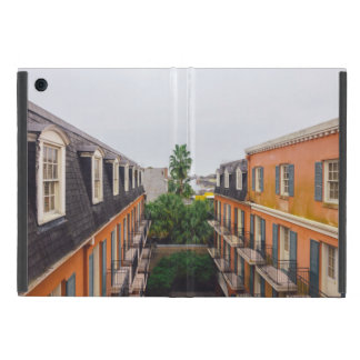 Buildings and Palm Trees in New Orleans Cover For iPad Mini