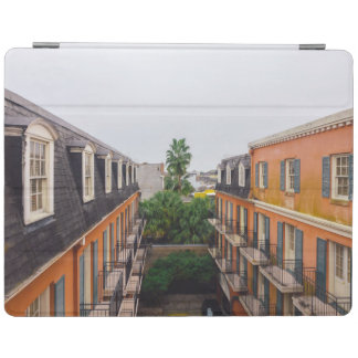Buildings and Palm Trees in New Orleans iPad Cover