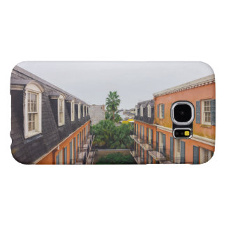 Buildings and Palm Trees in New Orleans Samsung Galaxy S6 Cases