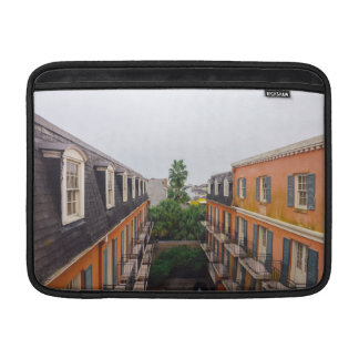 Buildings and Palm Trees in New Orleans Sleeve For MacBook Air