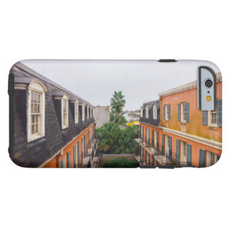 Buildings and Palm Trees in New Orleans Tough iPhone 6 Case