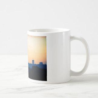 Buildings at Sunset Coffee Mug