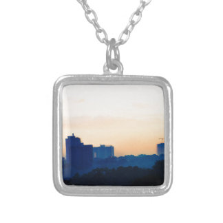 Buildings at Sunset Pendant