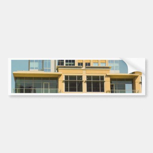buildings bumper sticker
