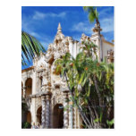Buildings In Balboa Park Post Card