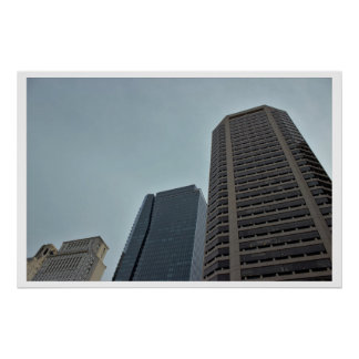 Buildings in Philadelphia Poster