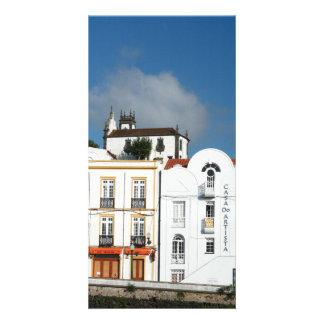 Buildings in Ponta Delgada Photo Card