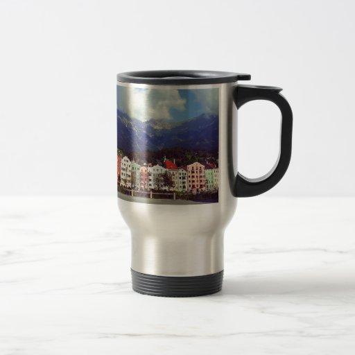 Buildings on a River Mug
