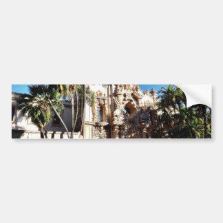 Buildings On The Prado In Balboa Park San Diego Bumper Sticker