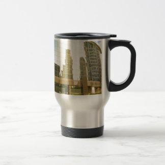 buildings stainless steel travel mug