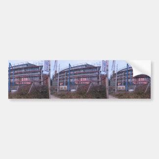 Buildings Under Construction Bumper Sticker