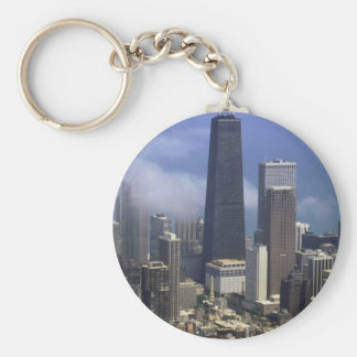 Buildings, view from top of Sears Tower, Chicago, Key Chain