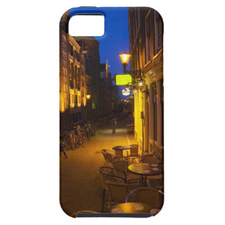 Buildings with 17th or 18th century facade and case for the iPhone 5