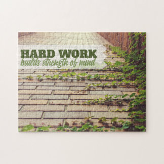 Builds Strength Of Mind Jigsaw Puzzle