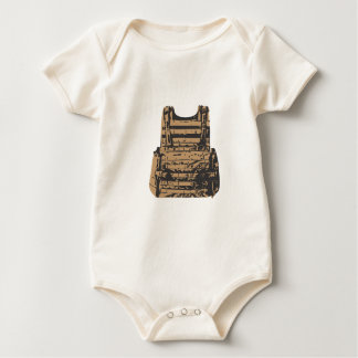 Built in Body Armour Baby Bodysuit