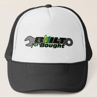 built not bought jdm car shirt tuner import racing trucker hat