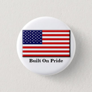 Built on pride button