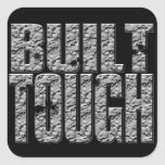 BUILT TOUGH.Hardcore Strong Muscle Man.Sticker