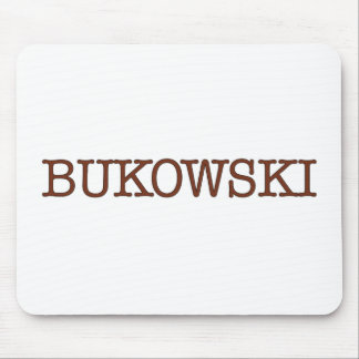 Bukowski Mouse Pad