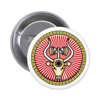 Bukranion Icon Pin