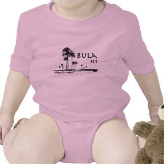 Bula Fiji Palm Tree Graphic Creeper