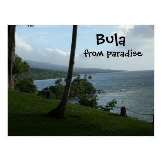 Bula From Paradise Postcard