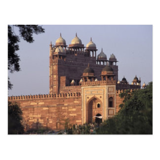 Buland Darwaza Gate of Victory) to the Dargah Postcard