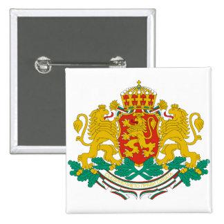 Bulgaria Coat of arms BG 15 Cm Square Badge