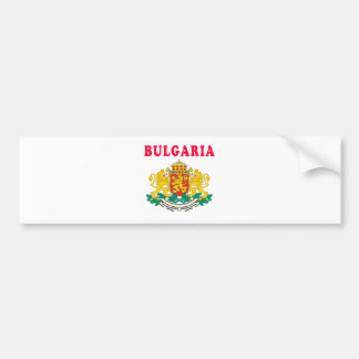 Bulgaria Coat Of Arms Designs Bumper Sticker
