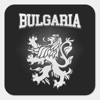 Bulgaria Coat of Arms Square Sticker