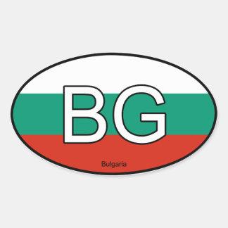 Bulgaria Euro Sticker