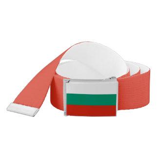 Bulgaria Flag Belt