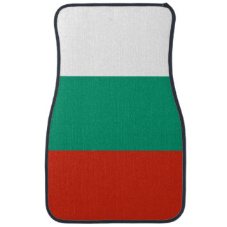 Bulgaria Flag Car Mat