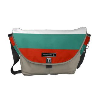 Bulgaria Flag Commuter Bags