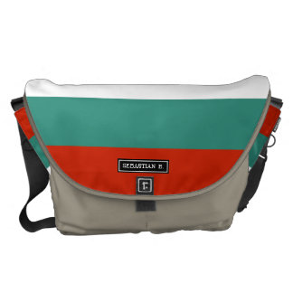 Bulgaria Flag Courier Bags