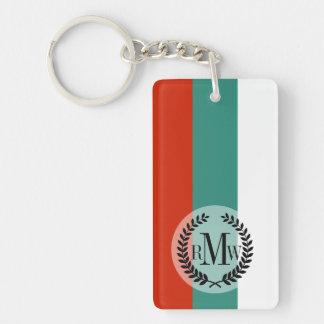 Bulgaria Flag Double-Sided Rectangular Acrylic Key Ring