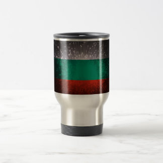 Bulgaria Flag Firework Mug