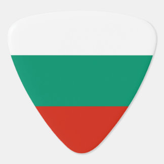 Bulgaria Flag Guitar Pick