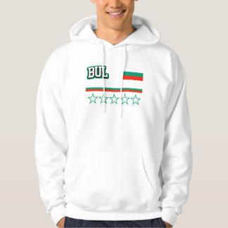 Bulgaria Flag Hoodie