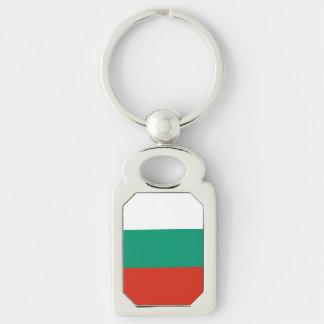 Bulgaria Flag Key Ring