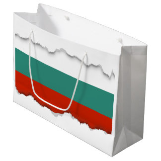 Bulgaria Flag Large Gift Bag