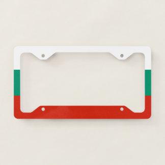 Bulgaria Flag Licence Plate Frame