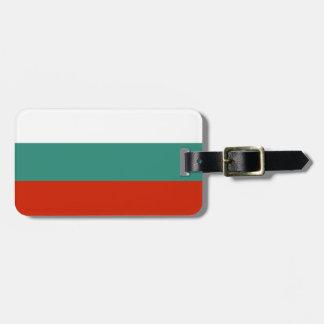 Bulgaria Flag Luggage Tag